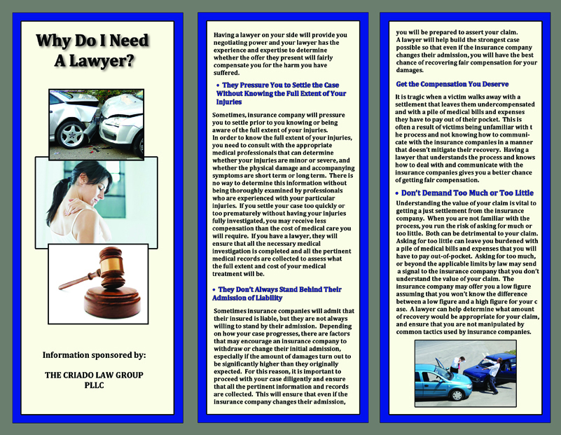 Law Firm Brochure - Laura Perez\'s Site - Producer