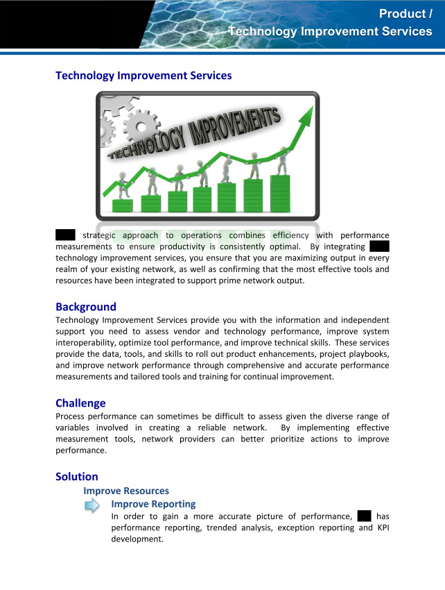 Microsoft Word - (Kelly) Productization - Technology Improvement